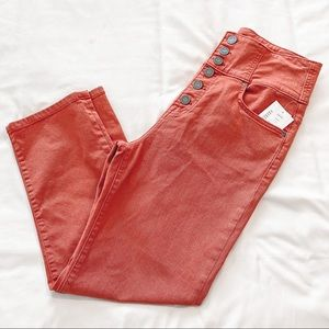 NWT JOIE Laurelle Cropped High Waisted Pants